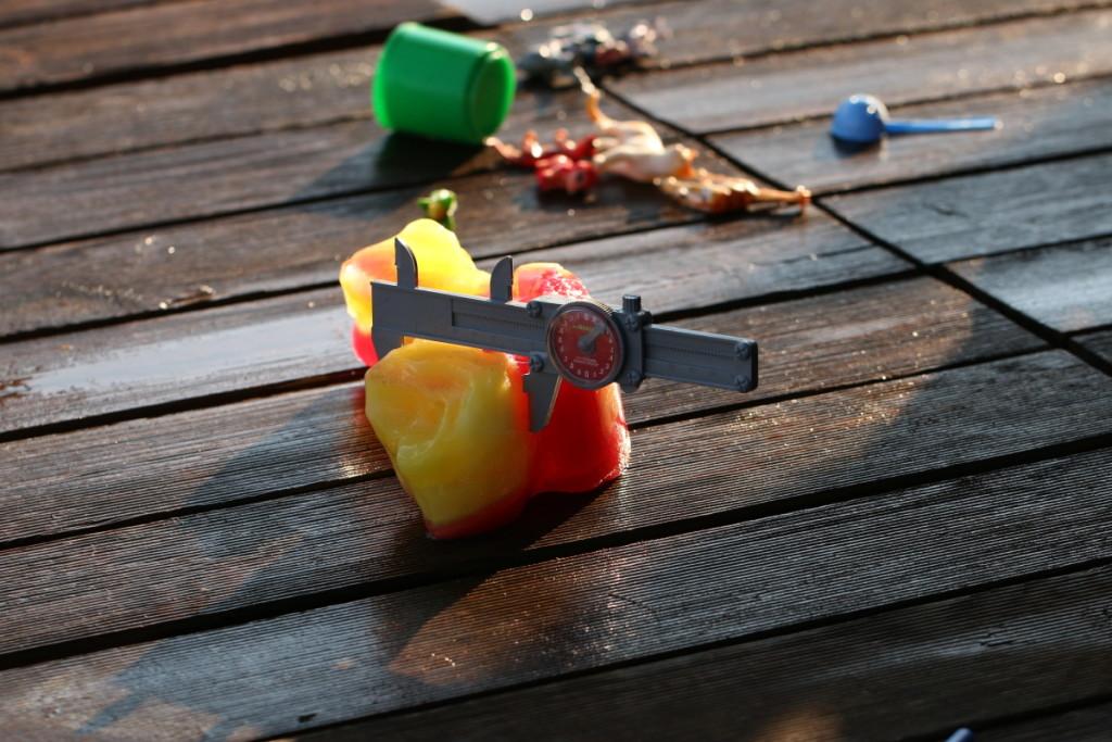Zábava s ledem pro děti - Budilka tvoří