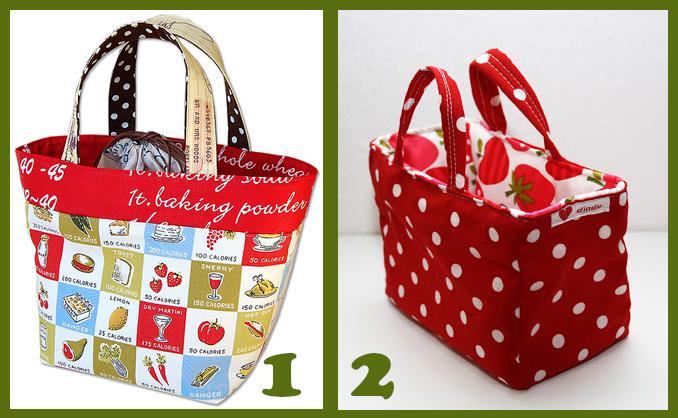 inspirativní obrázky na oboustrannou tašku - Budilka šije
