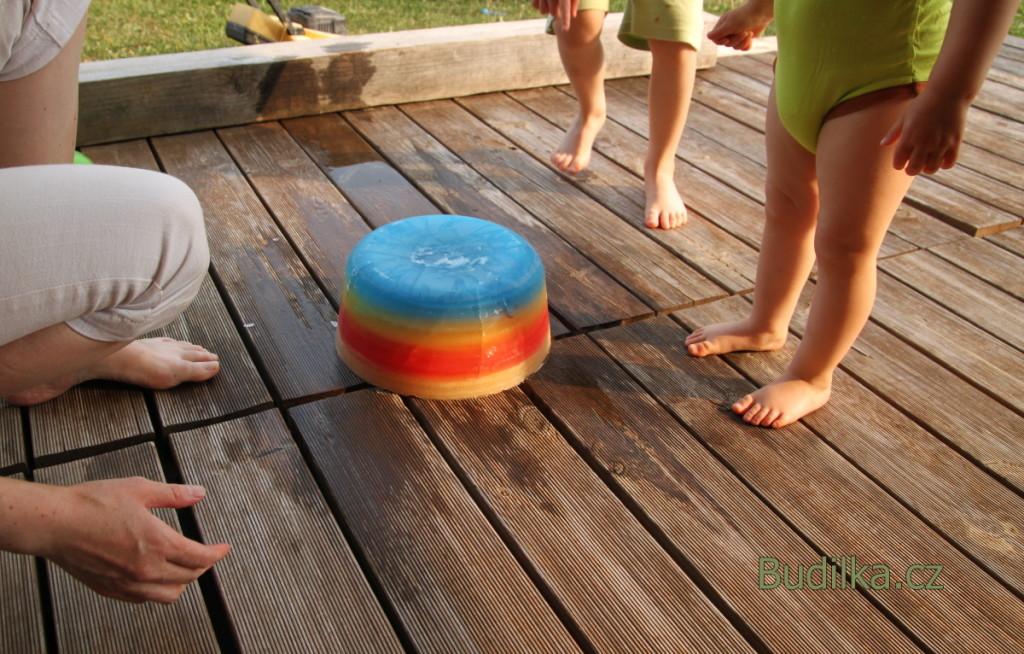 Dolování z ledu pro děti - Budilka tvoří