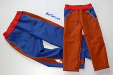softshellové kalhoty pro sourozence - Budilka.cz