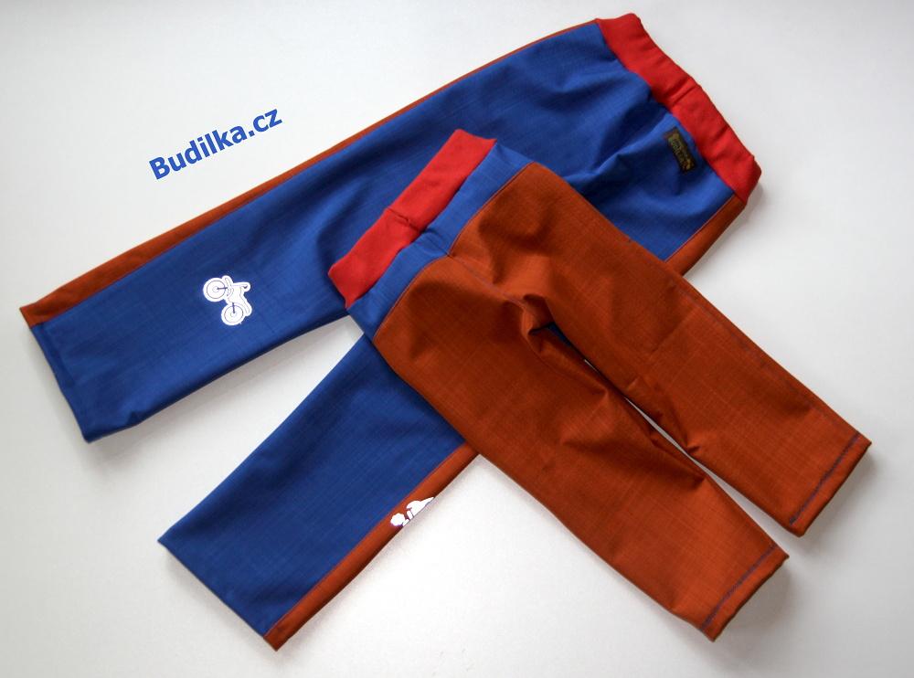 """softshellové kalhoty pro sourozence, Ottobre: """"windy day"""" a """"forest path"""" - Budilka.cz"""