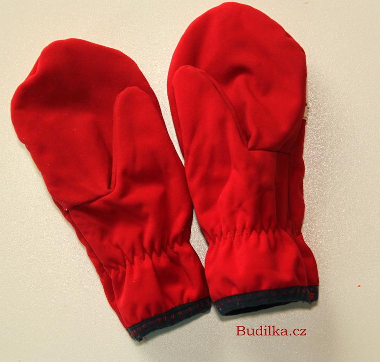 Softshellové rukavice doma ušité - Budilka.cz