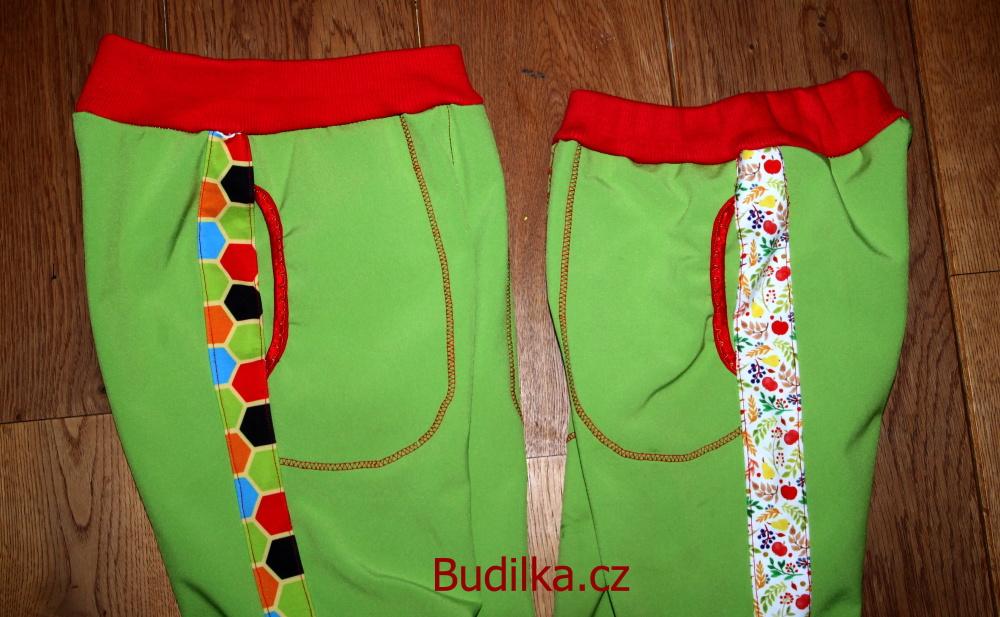 Soft - softshell - softshellové kalhoty podle Ottobre Windy Day - Budilka.cz
