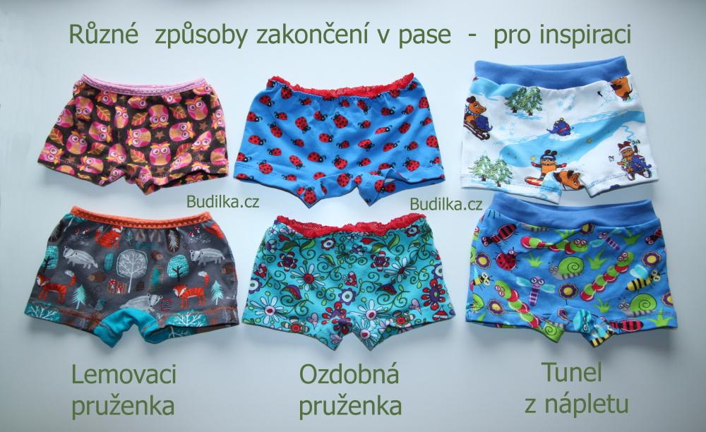 kalhotky s nohavičkami, střih a fotonávod zdarma - Budilka.cz