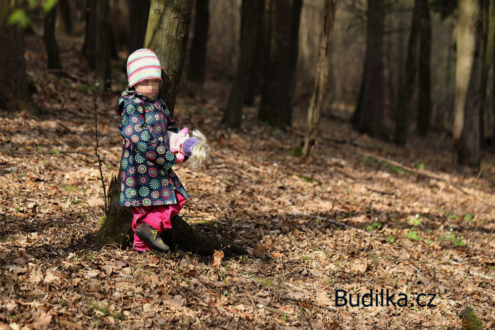 "Softshellový kabátek ušitý podle Ottobre ""Dark days"" - Budilka.cz"
