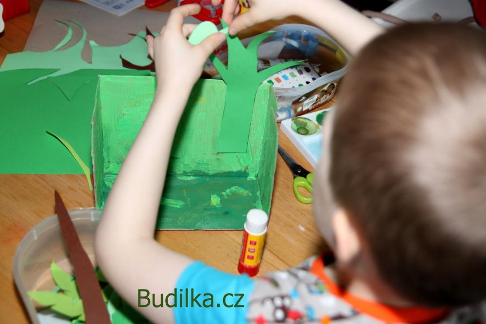 papírová džungle - tvoření s dětmi - Budilka.cz