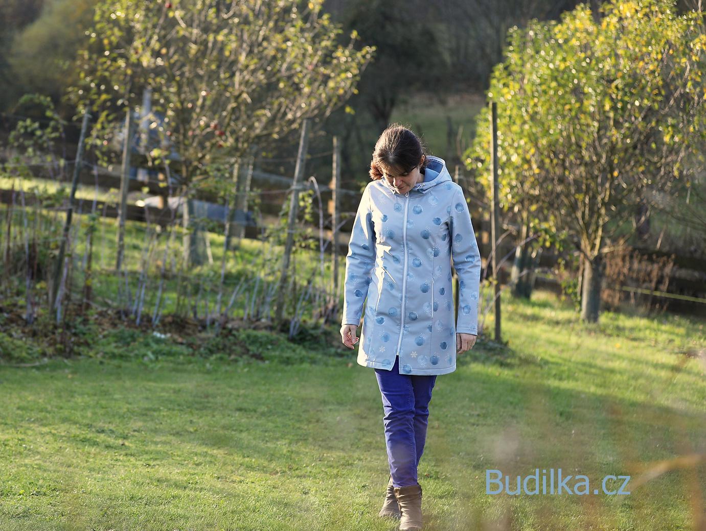 softshellový dámský kabát - wear everyday coat ottobre - Budilka.cz