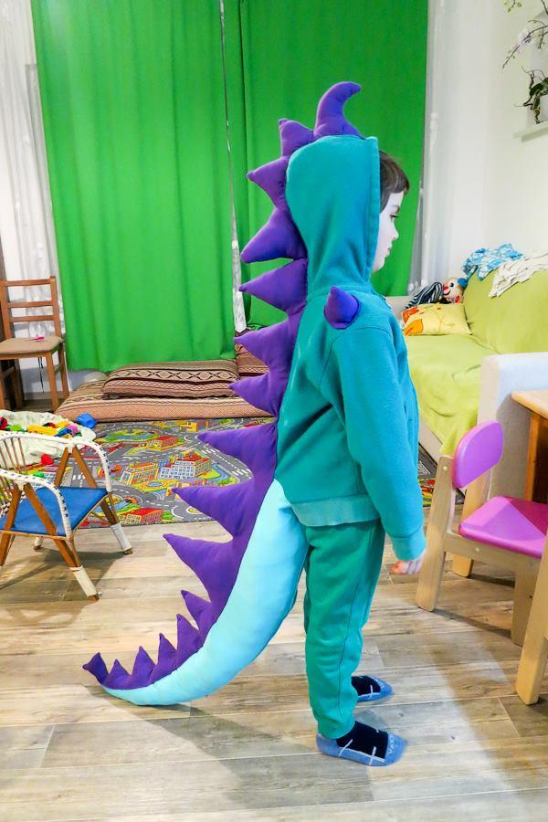 Dinosaur podle postupu v článku